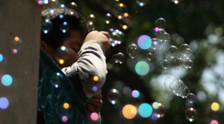Мыльные пузыри. Фото: esparta palma/flickr.com