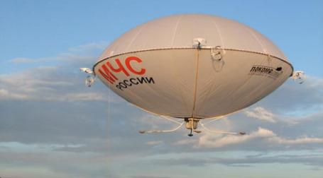 МЧС планирует использовать дирижабли для борьбы с последствиями катастроф. Фото: пресс-служба «Локомоскай»