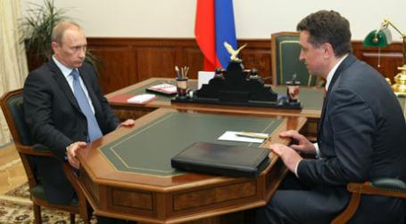 Валерий Гаевский на встрече с Владимиром Путиным прелдожил свое решение «зарплатного» вопроса. Фото: РИА Новости