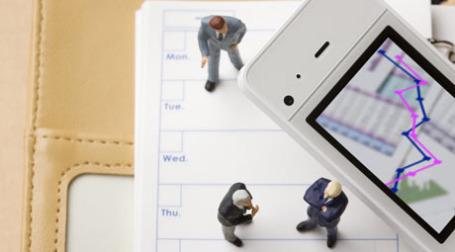 Телефон становится все более популярным рекламным носителем. Фото: PhotoXPress