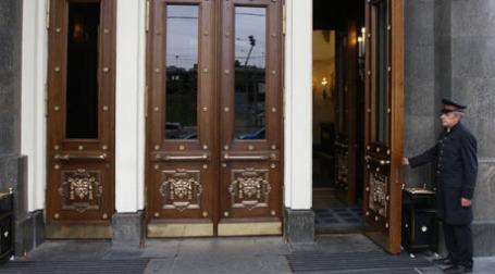 Швейцар у дверей гостиницы. Фото: ИТАР-ТАСС