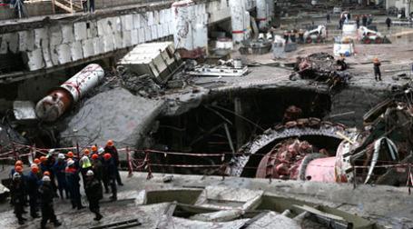 Поиски людей на Саяно-Шушенской ГЭС прекращены. Фото: РИА Новости