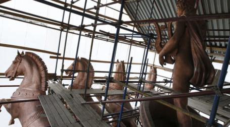 Реконструкция здания Большого театра. Фото: РИА Новости