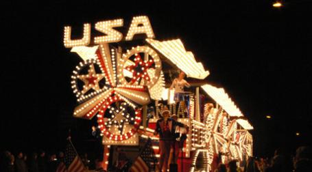 Праздничная повозка USA. Фото: bertie's world/flickr.com