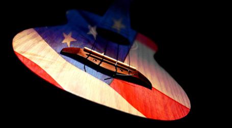 Гитара с американским флагом. Фото: jugbo/flickr.com