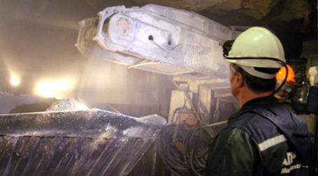 Добыча алмазов компании АЛРОСА вряд ли вырастет в 2010 году. Фото: AFP
