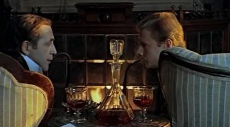 Кадр из фильма «Приключения Шерлока Холмса и доктора Ватсона: Собака Баскервилей»