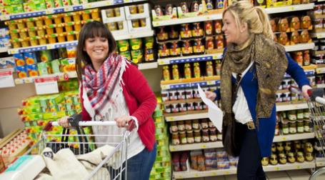 Индекс потребительской уверенности в III квартале 2009 года поднялся на 7%. Фото: Carrefour.com