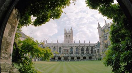 Здание Оксфордского университета. Фото: РИА Новости