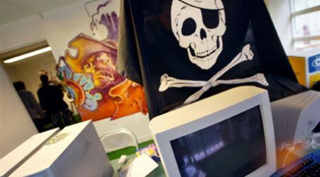 Россия названа страной с наиболее высокими показателями софтверного пиратства. Фото: AFP