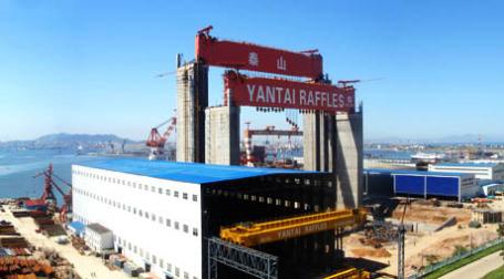 Верфь компании компании Yantai raffles. Фото: .yantai-raffles.com