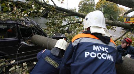 Устранения последствий чрезвычайного происшествия. Фото: РИА Новости