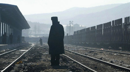 Железнодорожная граница с Китаем. Фото: AFP