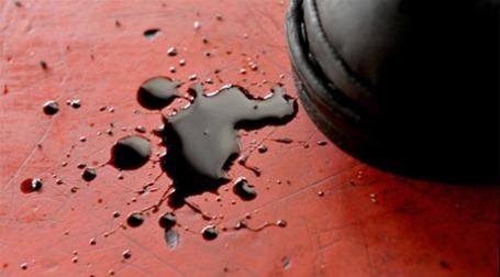 Разлившаяся нефть. Фото: AFP