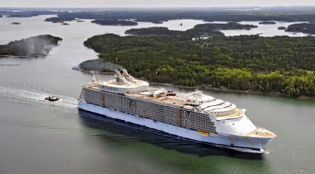 Корабль Oasis of the Seas. Фото: ИТАР-ТАСС