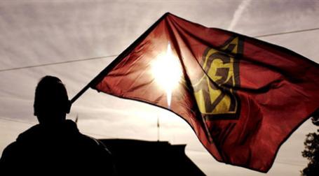 Германский профсоюз IG Metall готов на решительные меры. Фото: AFP
