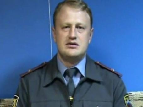 Стопкадр из видеообращения Дымоского А.А. в Владимиру Путину.