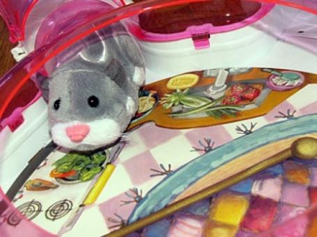 Роботы-хомячки за 10 долларов - игрушка номер один к Рождеству 2009. Фото: Lindsey/blogspot.com