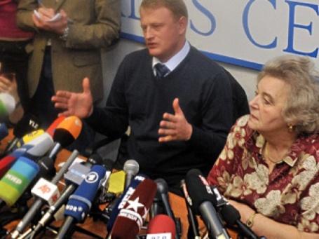 Алексей Дымовский на пресс-конференции в Москве. Фото: Митя Алешковский/BFM.ru