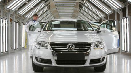 Volkswagen лидирует в мировом автомобилестроении по итогам 9 месяцев 2009 года. Фото: РИА Новости