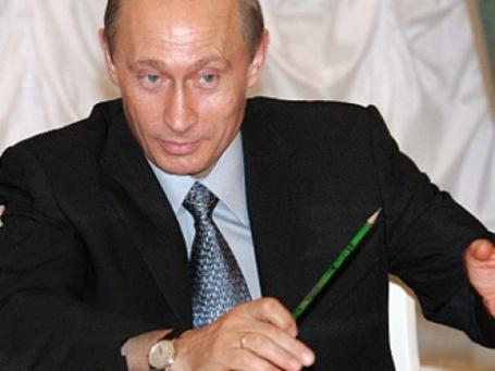 Карандаш Владимира Путина выставлен на интернет-аукцион. Фото: РИА Новости