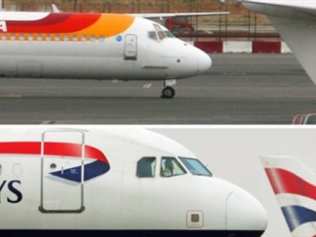 British Airways и испанская Iberia одобрили основные положения слияния, которое должно завершиться в 2010 г. Фото: AFP