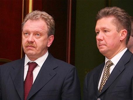 Алексей Миллер и Олег Дубина обсудили текущее финансовое положение Нафтогаза Украины. Фото: AFP