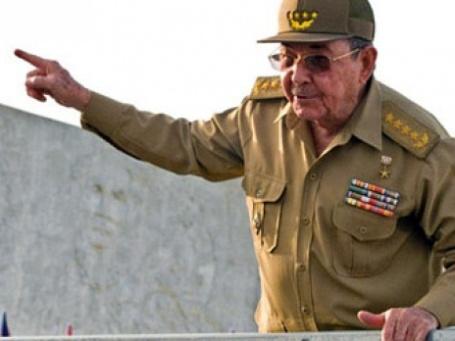 Кубинский лидер Рауль Кастро. Фото: AFP