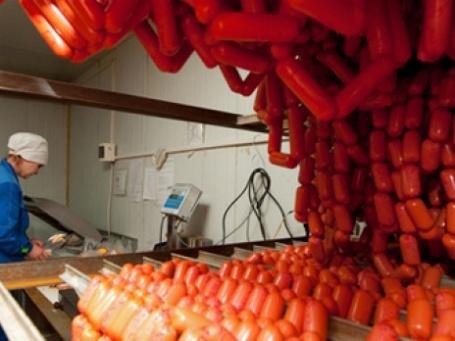 В России ускорилось падение промпроизводства, растет лишь производство мяса. Фото: РИА Новости
