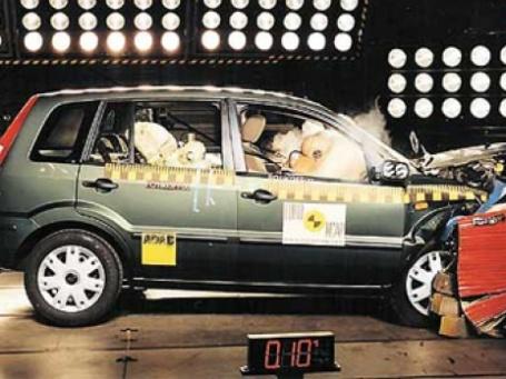 По результатам краш-тестов модели Ford заняли большинство первых позиций. Фото: crash-tests.net