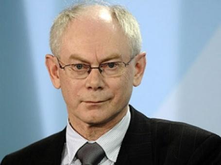 Херман Ван Ромпей стал первым президентом ЕС. Фото: AFP