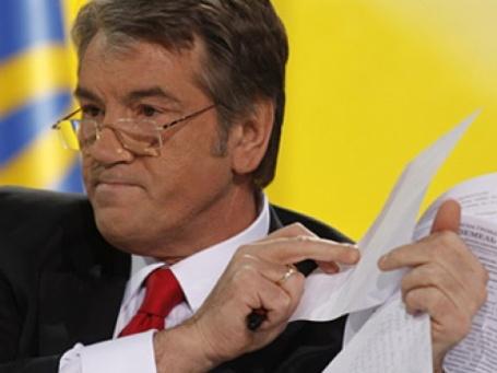 Виктор Ющенко в письме Дмитрию Медведеву просит изменить газовые контракты. Фото: РИА Новости