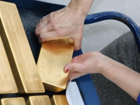 Гохран продаст ЦБР 30 тонн золота до конца 2009 года. Фото: РИА Новости