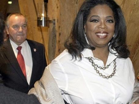 Опра Уинфри планирует развивать собственную сеть кабельного телевидения — OWN (Oprah Winfrey Network). Фото: AFP