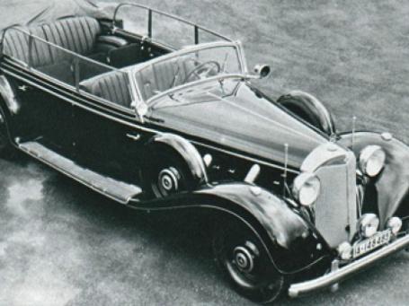 Лимузин, принадлежащий Адольфу Гитлеру, был куплен российским миллиардером. Фото: avto-hobbi.narod.ru