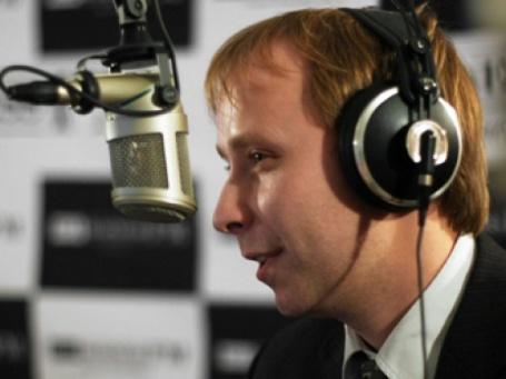 Сергей Карыхалин в студии радиостанции Business FM. Фото: Евгения Мангутова/BFM.ru
