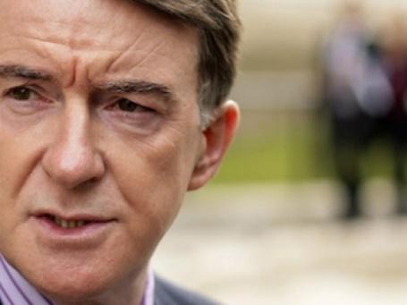 Министр по делам бизнеса Великобритании Питер Мандельсон. Фото: AFP