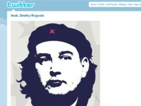 Дмитрий Рогозин видит себя революционером, но никак не шпионом (снимок экрана личной страницы Дмитрия Рогозина на Twitter)