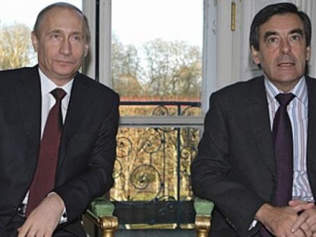 Франсуа Фийон и Владимир Путин сегодня, возможно, подпишут  документы о сотрудничестве. Фото: РИА Новости