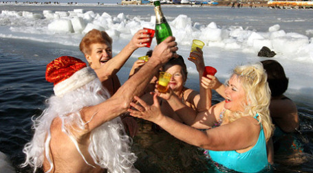 Россияне будут отдыхать на Новый год десять дней подряд. Фото: РИА Новости