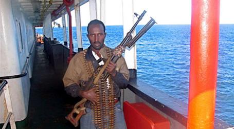 Сомалийские пираты учредили  биржу, на которой торгуются акции промышляющих морским разбоем компаний. Фото: AFP