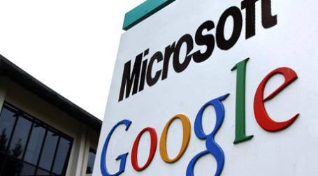 Google и Microsoft обменялись миролюбивыми заверениями. Фото:  oktyab.ru