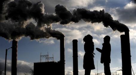 На саммите в  Копенгагене планируют резко сократить выбросы С02. Фото: AFP