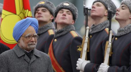 Премьер-министр Индии Манмохан Сингх, прибывший в Россию с официальным визитом. Фото: РИА Новости