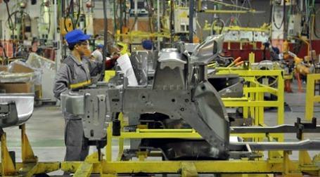 Новые Renault Sandero будут собираться на заводе Автофрамос. Фото: Митя Алешковский/BFM.ru