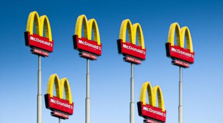 Вывеска McDonald's. Фото:  Curtis Gregory Perry/flickr.com