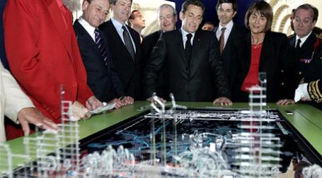 В начале декабря нижняя палата парламента Франции одобрила законопроект о реализации плана городского развития «Большой Париж», о котором президент страны Николя Саркози сообщил весной 2009 года.  Фото: AFP
