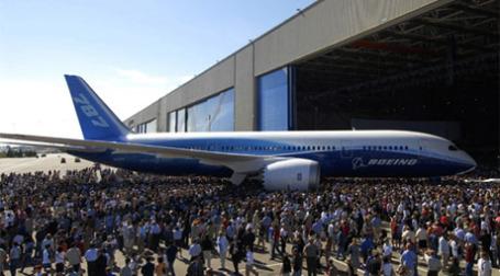 Самолет Boeing 787 Dreamliner. Фото: newairplane.com