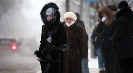 В Москве из-за мороза за минувшие сутки пострадали 33 человека. Фото: РИА Новости