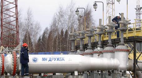 Участок нефтепровода МН «Дружба». Фото: ИТАР-ТАСС